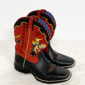Ariat | Buckaroo Blaze Square Toe Cowboy Boot 5.5
